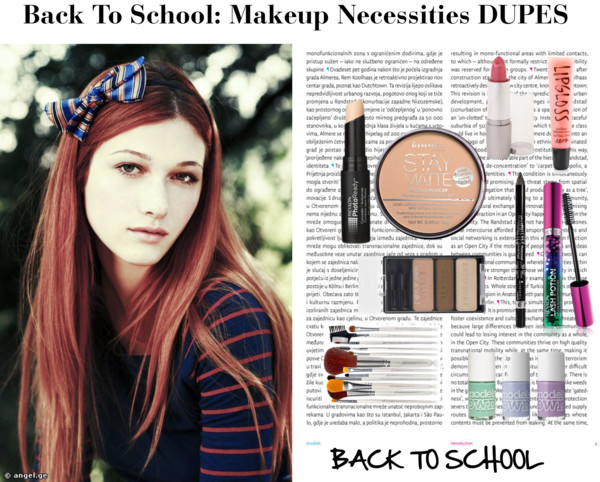 how to make makeup look natural for school