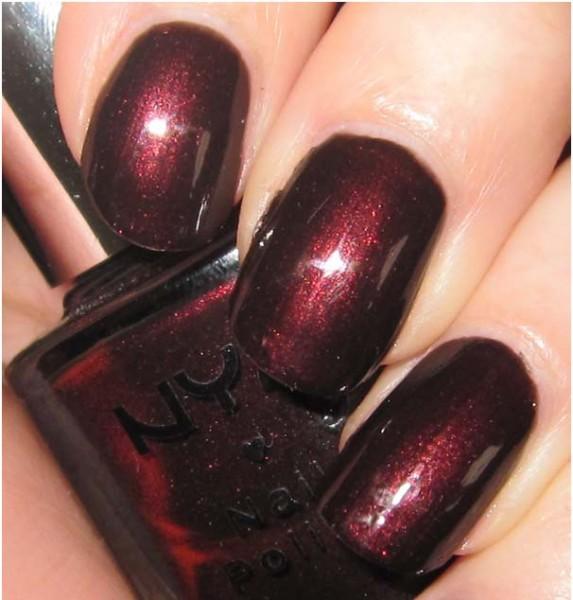 Wine Colored Nail Polish: Adolescent Chic