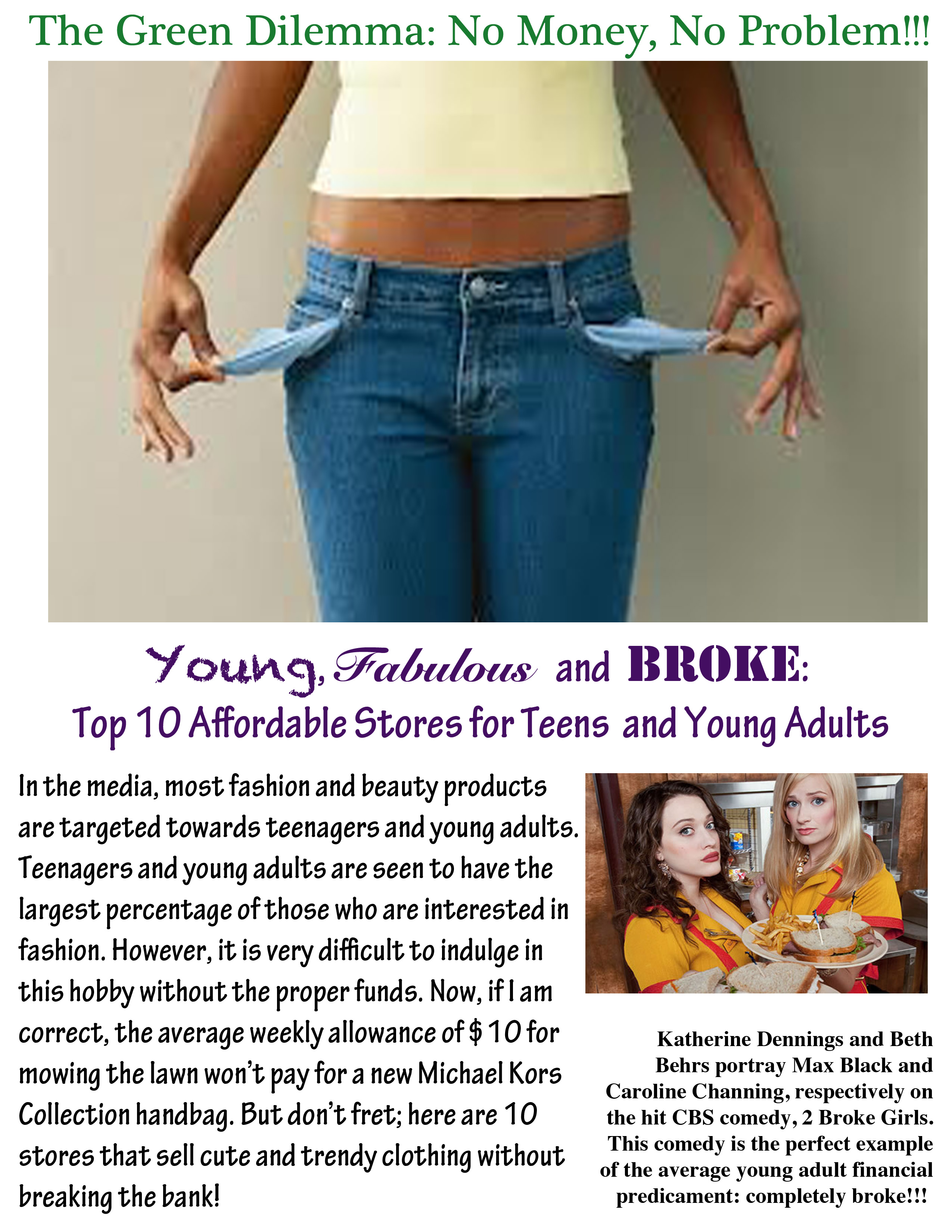 Affordable teen clothing stores