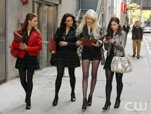 Gossip Girl Jenny Fashion Show