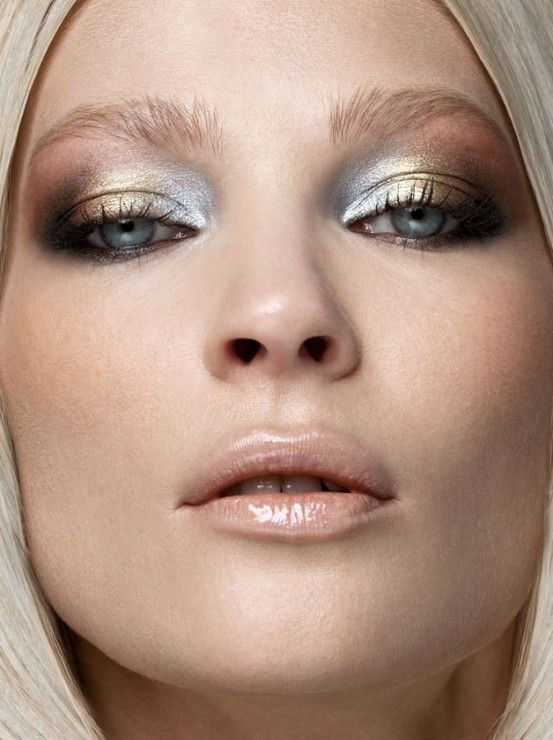 metallic-technicolor-makeup